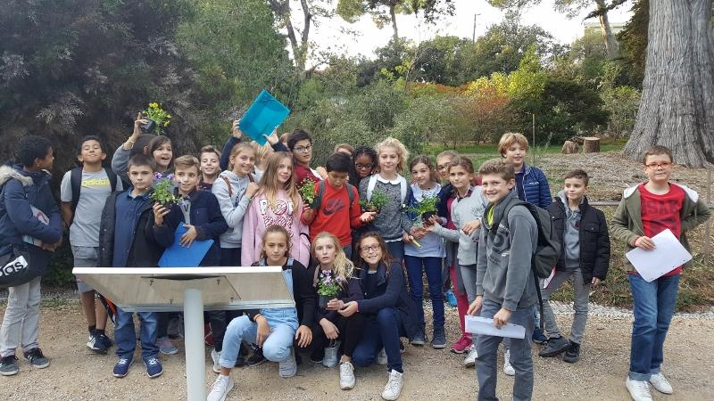 Visite jardin botanique villa thuret for Jardin villa thuret antibes